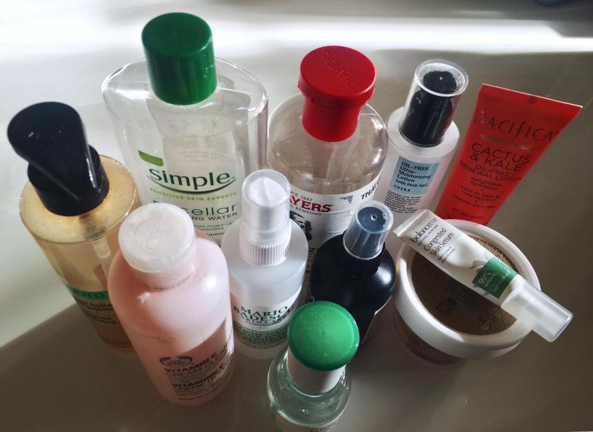 skincare-empties