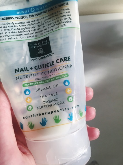 earth therapeutics nail + cuticle care conditioner
